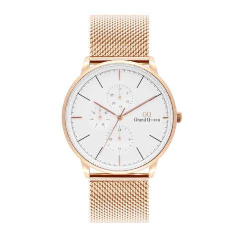 ELIZABETH Mesh Rose Gold White/Rose Gold