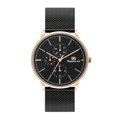 ELIZABETH Mesh Rose Gold Black/Black