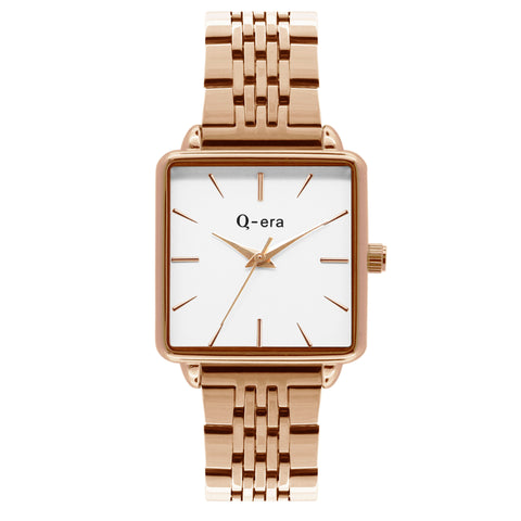 BEATRIX Steel Rose Gold White/Rose Gold