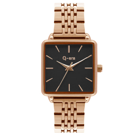 BEATRIX Steel Rose Gold Black/Rose Gold