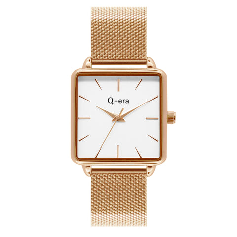 BEATRIX Mesh Rose Gold White/Rose Gold