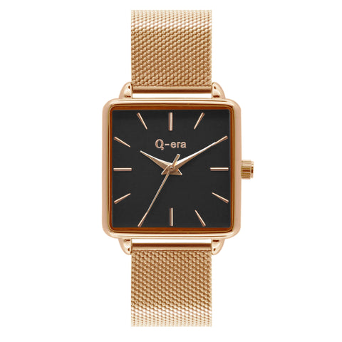 BEATRIX Mesh Rose Gold Black/Rose Gold