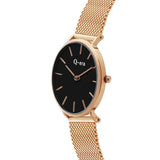 VICTORIA Mesh Rose Gold Black/Rose Gold