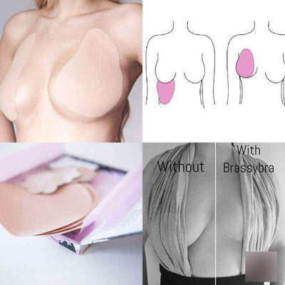 【buy 2 get extra 10% OFF+FREE SHIPPING】Invisible Tape Bra - IlifeGadgets