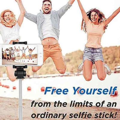 【buy 2 get extra 10% off+free shipping】3 in 1 Wireless Bluetooth Selfie Stick - IlifeGadgets