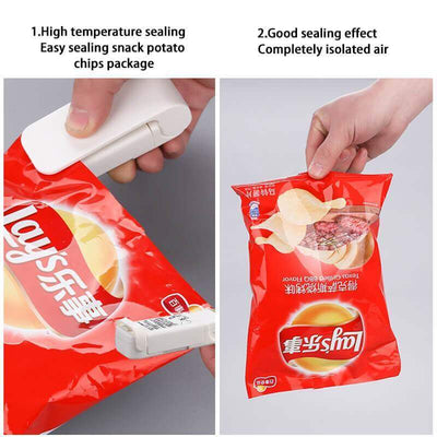 【buy 2 get extra 10% OFF】Mini Heat Sealing Machine - IlifeGadgets