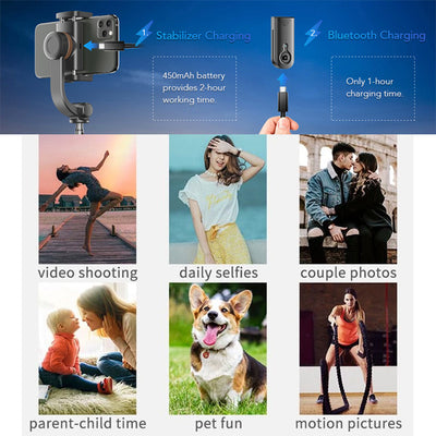 [Last Day Promotion, 50% OFF] PB Bluetooth anti-shake selfie stick - IlifeGadgets