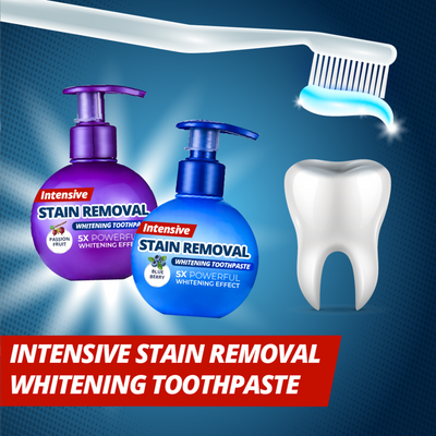 【On Sale】Intensive Stain Removal Whitening Toothpaste - IlifeGadgets
