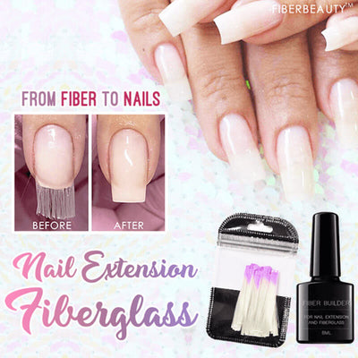 【buy 2 get extra 10% OFF】Nail Extension Fiberglass Kit - IlifeGadgets