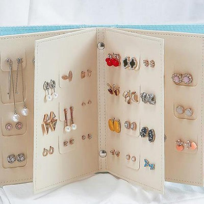 【BUY 2 GET EXTRA 10%OFF+FREE SHIPPING】Earring storage album - IlifeGadgets
