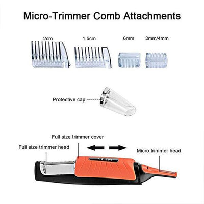 [Limited Stock, 50% OFF & More Big Extra Discouts] 2 in 1 Hair Trimmer - IlifeGadgets
