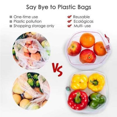 【Christmas Big Sale, 55% OFF】Eco Friendly Resuable And Washable Produce Bags - IlifeGadgets