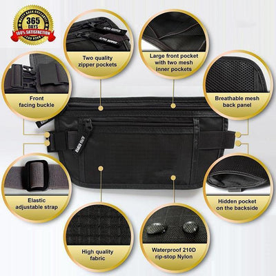 【BUY 2 GET EXTRA 10%OFF+FREE SHIPPING】Travel Hidden Waist Pouch - IlifeGadgets