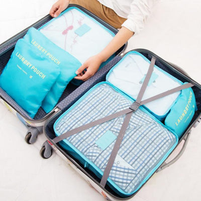 【50% OFF+FREE SHIPPING】Luggage Packing Organizer (Set of 6) - IlifeGadgets
