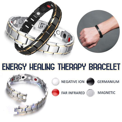 ❤️LAST DAY 50% OFF + BUY 2 GET EXTRA 10%OFF❤️Energy Healing Therapy Bracelet - IlifeGadgets