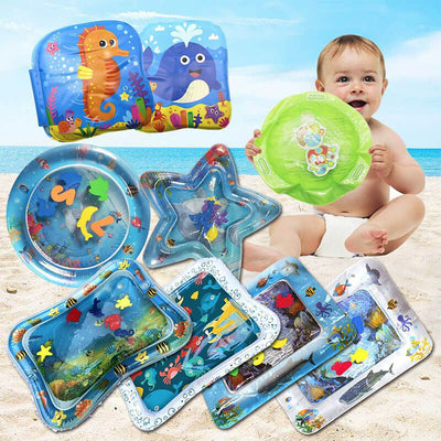 【Buy 2 get extra 10% OFF+FREE SHIPPING】Tummy Time Inflatable Babies Water Mat - Pointsmarts