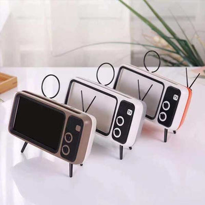 【Hot Sales, 50% OFF】RETRO TV BLUETOOTH SPEAKER MOBILE PHONE HOLDER-BUY TWO FREE SHIPPING - IlifeGadgets
