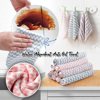 Water-Absorbent Anti-Oil Towel - Set For 10 - IlifeGadgets