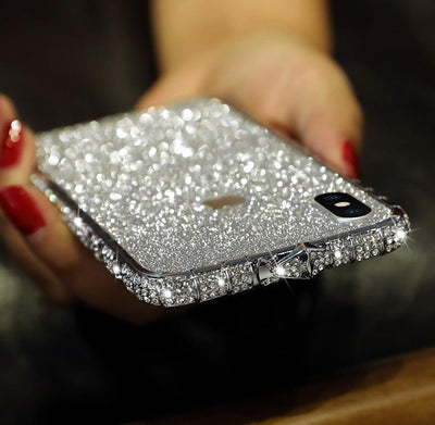 Bling Rhinestone iPhone Case With Grade A aluminum Frame - IlifeGadgets