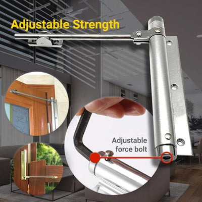 【Last Day Promotion, 50% OFF】utomatic Door Self-Closing Hinge - IlifeGadgets