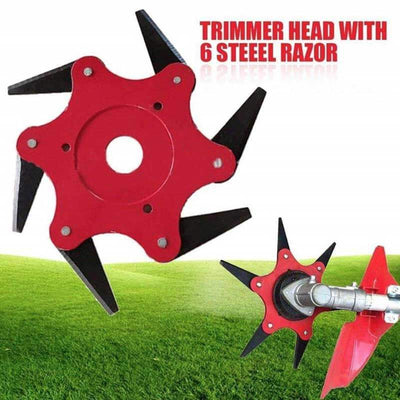6 Blade™ Steel Trimmer Head - buy 2 get extra 10% off - IlifeGadgets