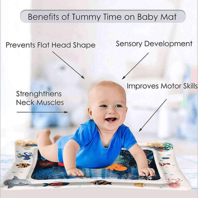 【Buy 2 get extra 10% OFF+FREE SHIPPING】Tummy Time Inflatable Babies Water Mat - IlifeGadgets