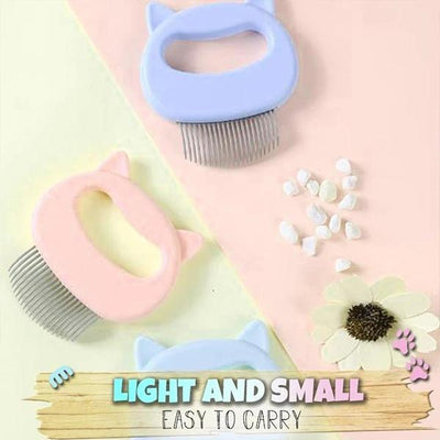 【LAST DAY PROMOTION,50% OFF】Pet Hair Removal Massaging Shell Comb - IlifeGadgets