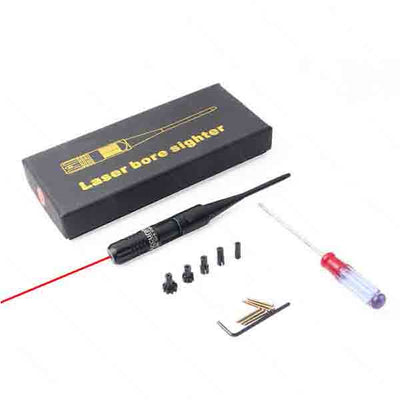 [50% OFF] Adjustable Red Laser Bore Sighter Kit