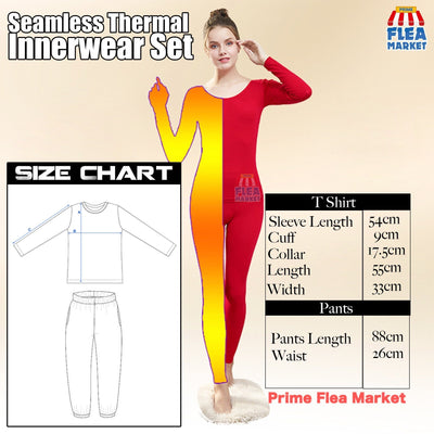 【Last Day 50% OFF+Free Shipping】Seamless Thermal Innerwear Set - IlifeGadgets