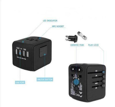 【50% OFF+FREE SHIPPING】Perfect Travel Adapter - IlifeGadgets