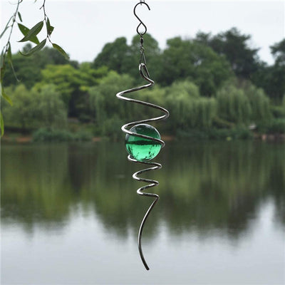 Wind Spinner Ball Spiral Tail