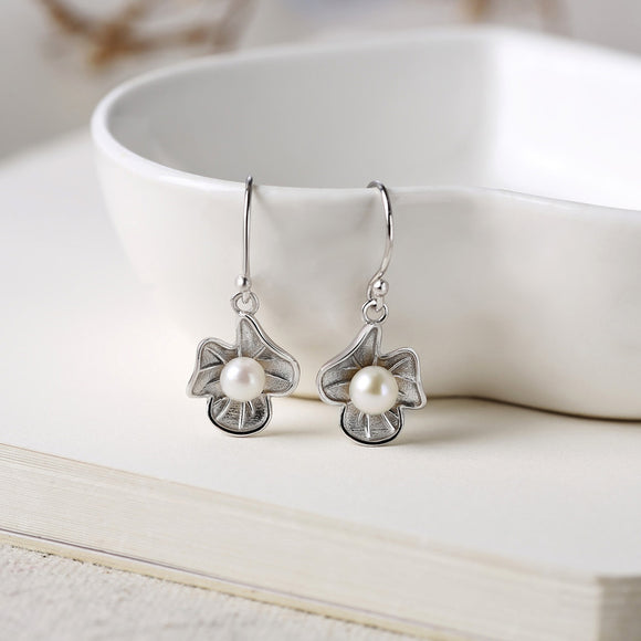 925 Sterling Silver Ethnic Dangle Earrings - IlifeGadgets