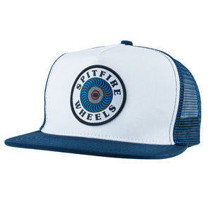 Spitfire Wheels OG Swirl Patch Navy Snapback Cap