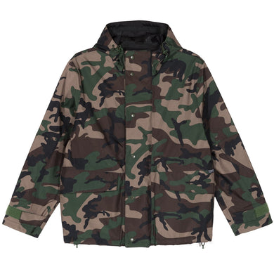 Stussy Shell Hooded Jacket Camo