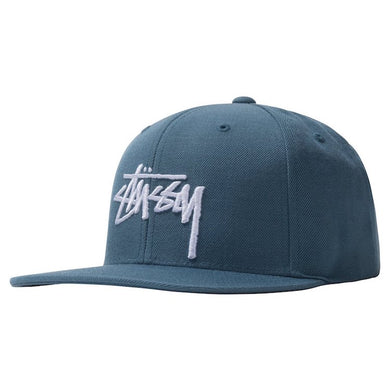 Stussy Stock Cap Steel Blue