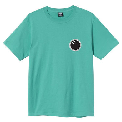 Stussy 8 Ball Dot T-Shirt Green