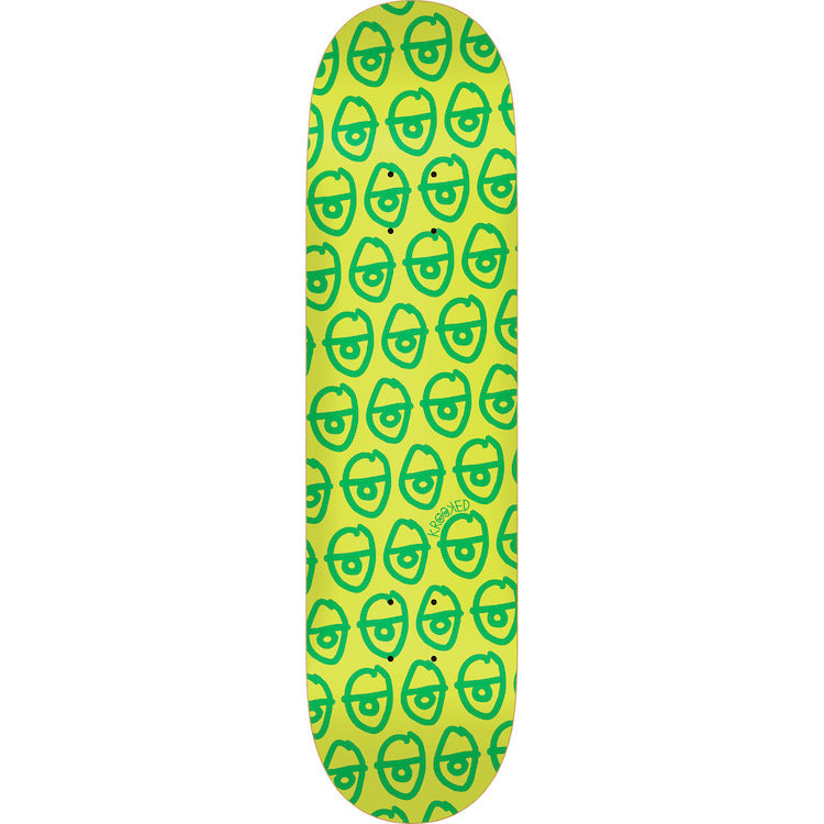 Krooked Skateboards Pewpils Green Skateboard Deck 8.5