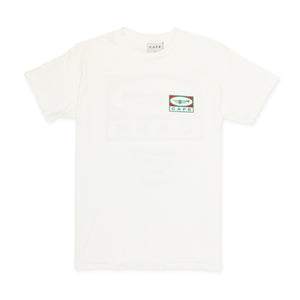"Skateboard Cafe 45"" T-Shirt White"