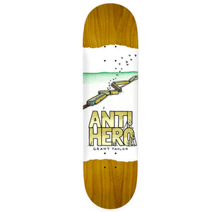 Anti Hero Skateboards Grant Expressions Skateboard Deck 8.38""