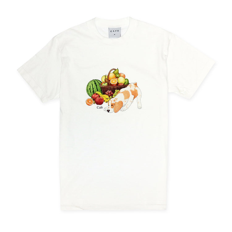 Skateboard Cafe Healthy T-Shirt White