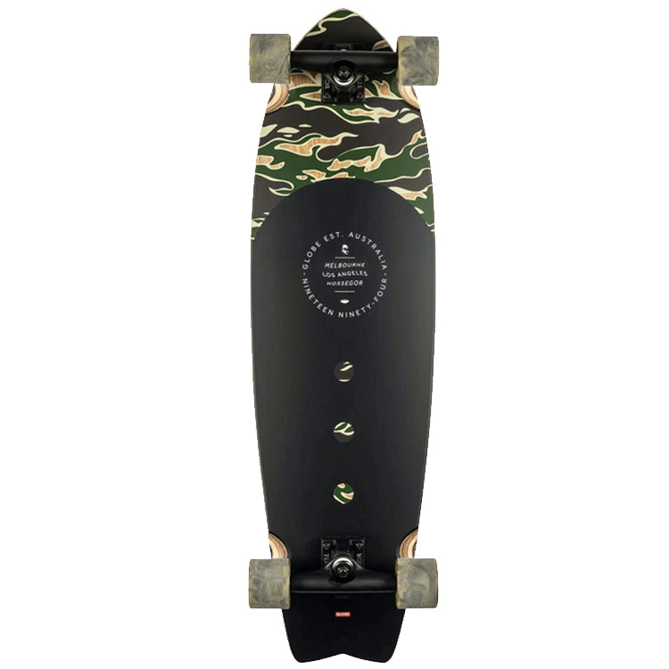 Globe Chromantic Tiger Camo Complete Skateboard Cruiser 9.5