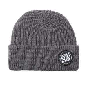 Santa Cruz Outline Dot Beanie Steel