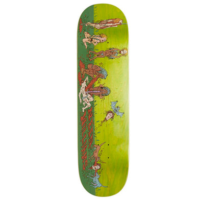 Deathwish Skateboards Neen Williams Cannibal Village Skateboard Deck 8.38
