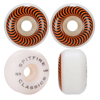 Spitfire Wheels Classic Skateboard Wheels 99a 53mm