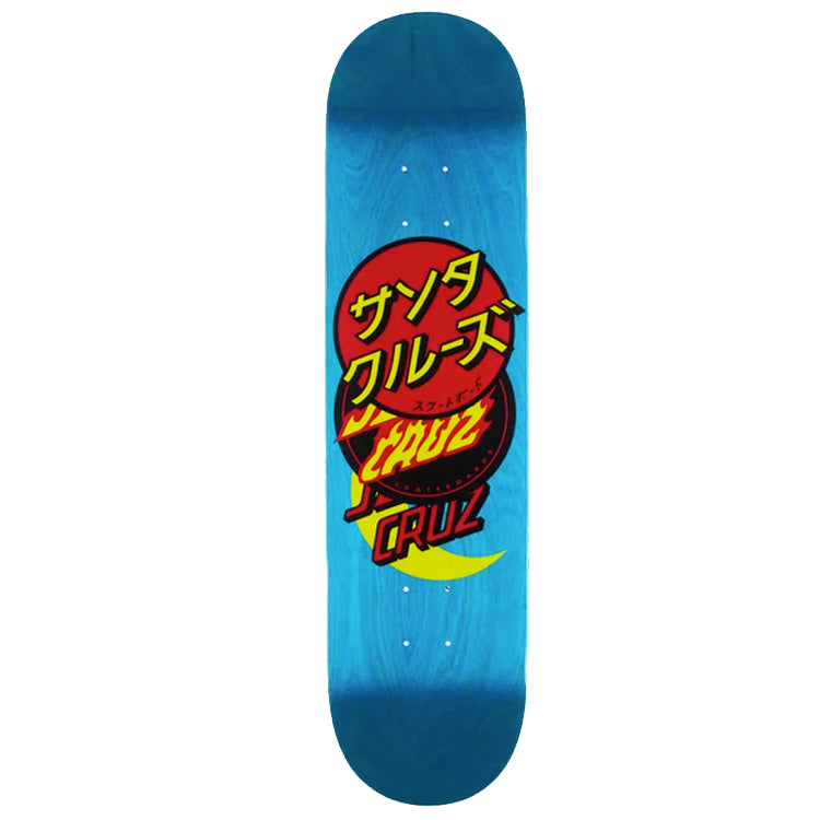 Santa Cruz Group Dot Hard Rock Maple Skateboard Deck 8.13