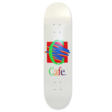 Skateboard Cafe Ronald White Skateboard Deck 8.375