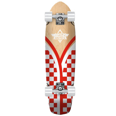 Dusters Flashback Checker Complete Skateboard Cruiser 8.75