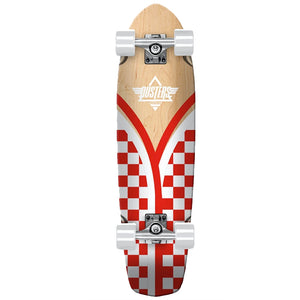 "Dusters Flashback Checker Complete Skateboard Cruiser 8.75"" x 29.5"""