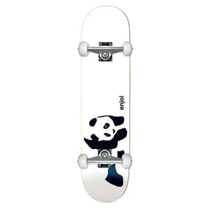 Enjoi Skateboards Whitey Panda Soft Top Mini Complete Skateboard 6.75""