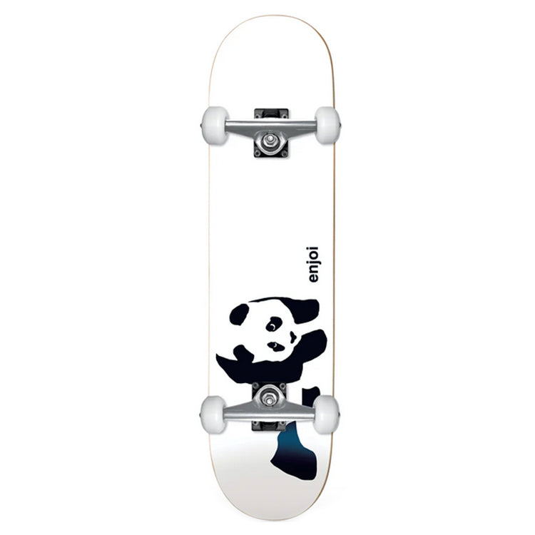 Enjoi Skateboards Whitey Panda Soft Top Mini Complete Skateboard 6.75